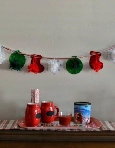 istmas Mantel | Tastefully Frugal ad #HolidayWithGlade