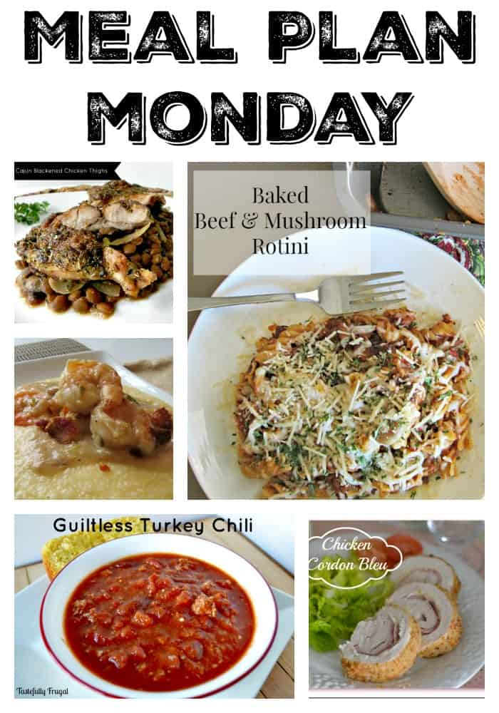 Meal Plan Monday #8 | Tastefully Frugal