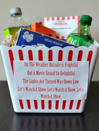 Movie Night Neighbor Gift | Tastefully Frugal