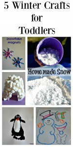 5 Winter Crafts for Toddlers |Tastefully Frugal