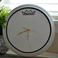 DIY Drum Clock