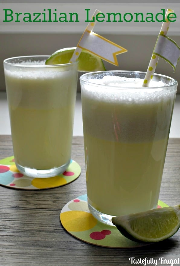 Brazilian Lemonade: A refreshing drink with the perfect mix of sweet and sour | Tastefully Frugal