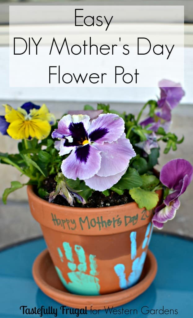 Diy Flower Pot Mother S Day Gift