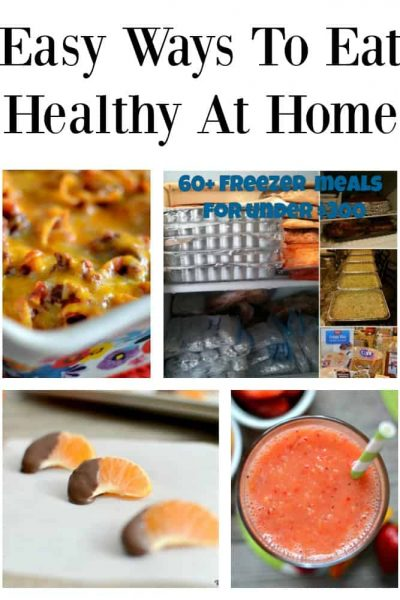 5 Easy and Affordable Ways To Eat Healthy At Home | Tastefully Frugal