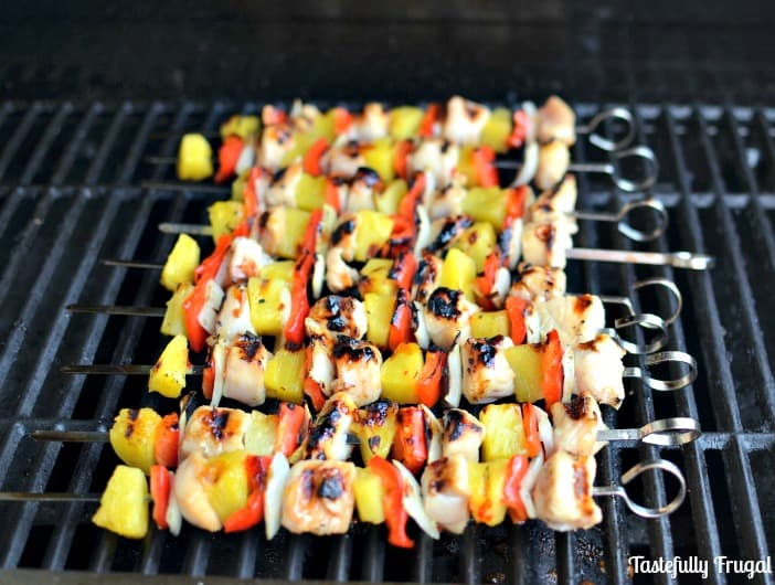 Sweet & Sour Chicken Kebabs: Bring a little Asian flair to your grill this summer | Tastefully Frugal