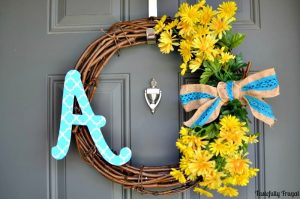 Light & Bright DIY Wreath: Perfect for Spring and Summer | Tastefully Frugal