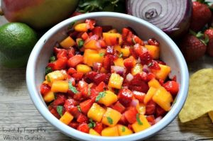 Strawberry Mango Salsa: The perfect addition to any summer BBQ   Tastefully Frugal