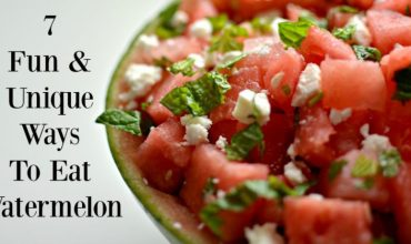 7 Fun & Unique Ways To Eat Watermelon