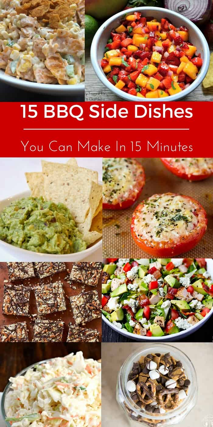 15 BBQ Side Dishes You Can Make In 15 Minutes