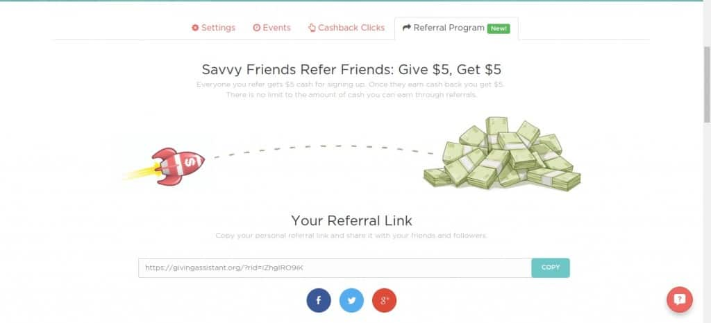 Giving Assistant: Cash Back, Refferal Bonuses, Charitable Donations and More: The Best Way To Do Your Online Shopping   Tastefully Frugal