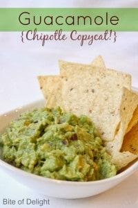 Guacamole Chipotle Copycat