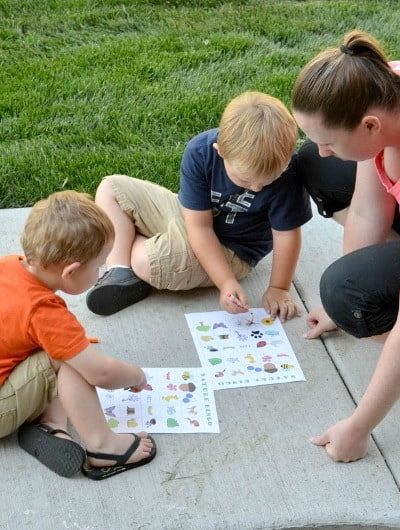 Nature Bingo FREE Printable: Get out and explore nature with this fun game of Bingo | Tastefully Frugal ad #TopYourSummer #SoHoppinGood