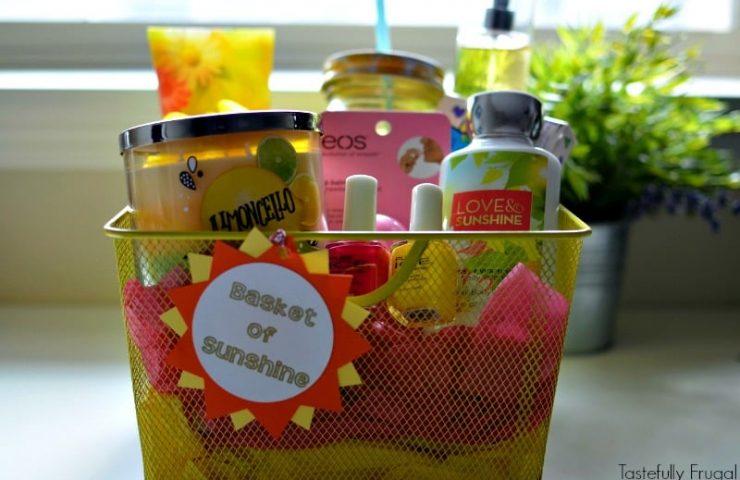 Basket of Sunshine Gift Basket