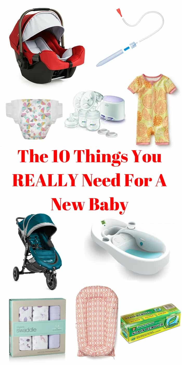 The 10 Things You REALLY Need For A New Baby   Tastefully Frugal