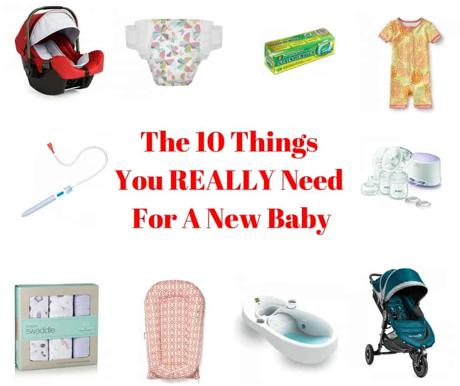 The 10 Things You Really Need For A New Baby - Tastefully ...