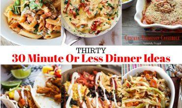 30 Easy Weeknight Dinners