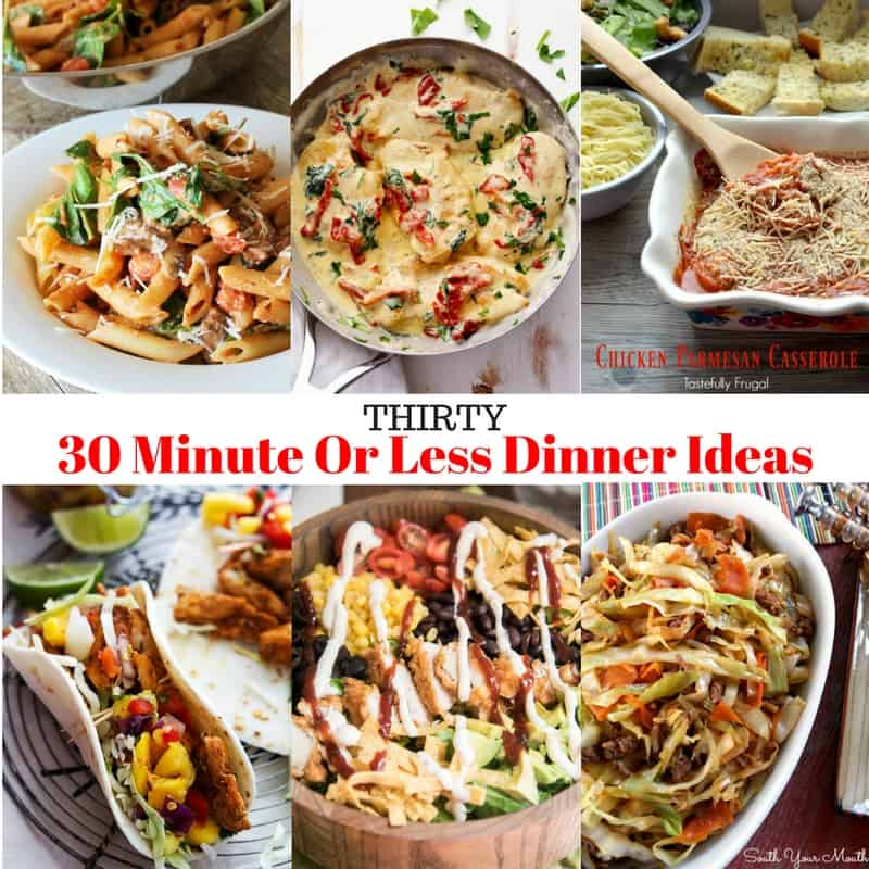 30 Easy Weeknight Dinners