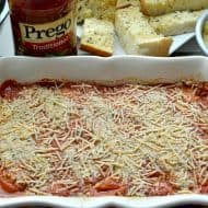 30 Minute Chicken Parmesan Casserole