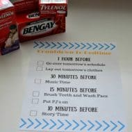 5 Ways To Ease Back Into A Nighttime Routine {and FREE Printable}