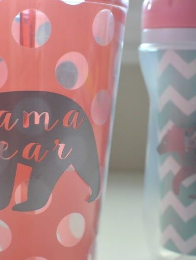 DIY Mommy & Me Cups | Tastefully Frugal