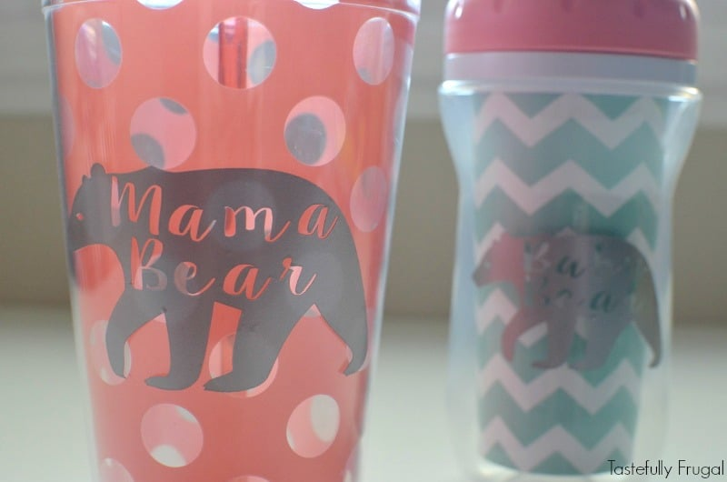 DIY Matching Mommy and Me Cups