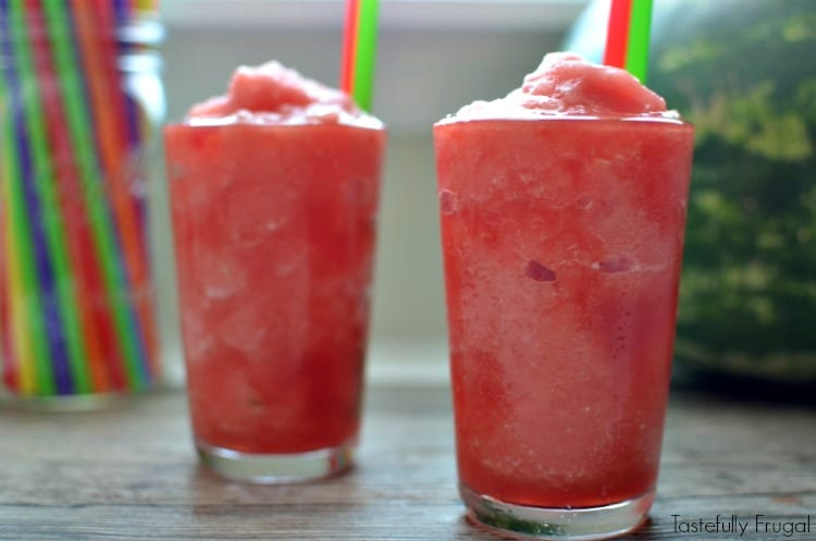 3 Ingredient Watermelon Slush