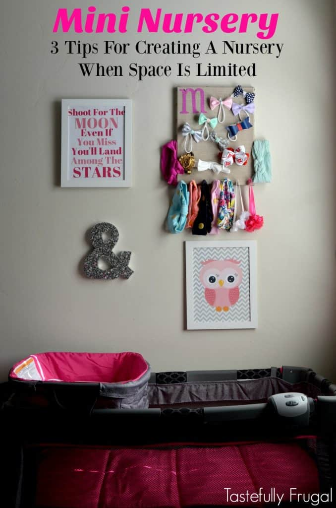 Mini Nursery: 3 Tips For Creating A Nursery When Space Is Limited | Tastefully Frugal