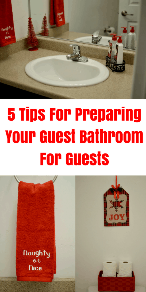 5 Tips For Preparing Your Guest Bathroom Guests Tastefully Frugal Ad Celebrateclean