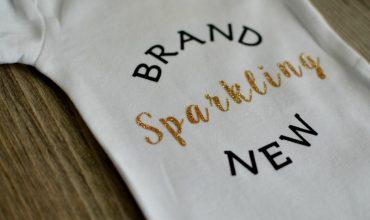 Brand Sparkling New Onesie