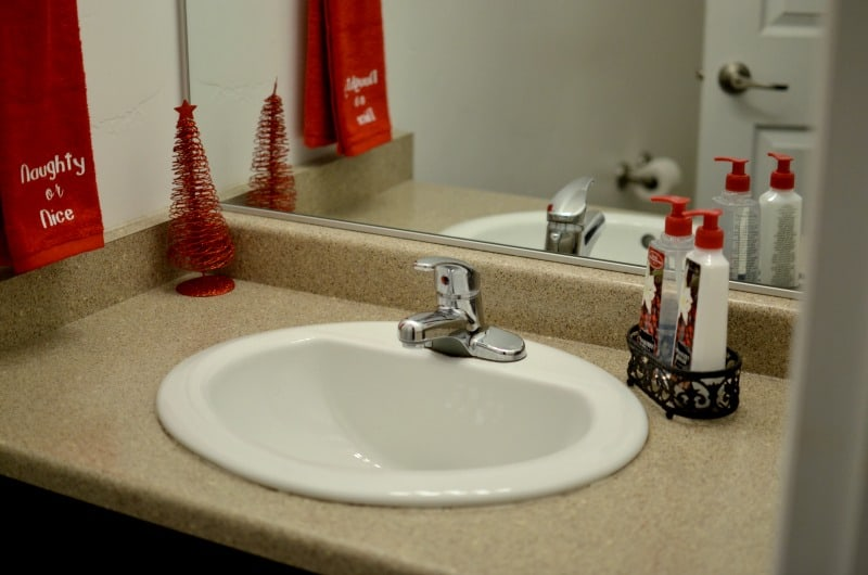 5 Tips For Preparing Your Guest Bathroom For Guests | Tastefully Frugal AD #CelebrateClean