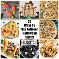 20 Ways To Use Leftover Halloween Candy