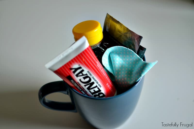 Post Shovel Gift Mug and DIY No Sew Hand Warmers