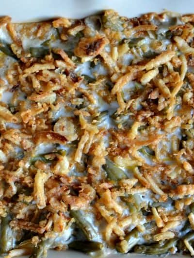 Macaroni & Cheese Green Bean Casserole: Two Classic Side Dishes Make One Rich Dish Perfect For Thanksgiving! AD #MakeHeartburnHistory @walgreens