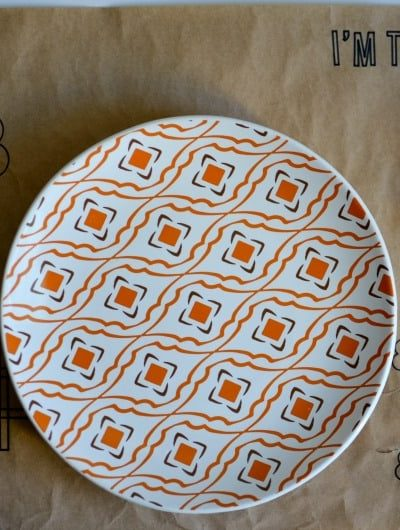 Thanksgiving Placemat for Kids   Tastefully Frugal AD #cricutmade