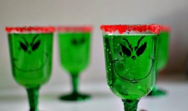 DIY Grinch Glasses