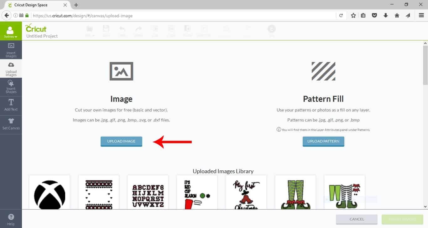 Cricut 101: How To Upload Your Own Images Into Cricut Design Space #ad