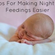 3 Tips For Making Nighttime Feedings Easier
