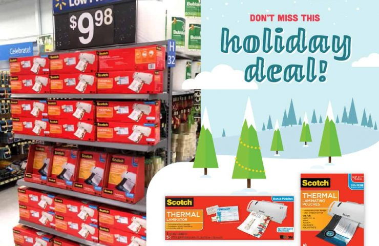Great Deal on Scotch Laminators For The New Year