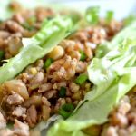 Asian Inspired Turkey Lettuce Wraps