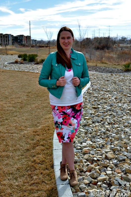 How To Rock A Pencil Skirt With Your Post Baby Body