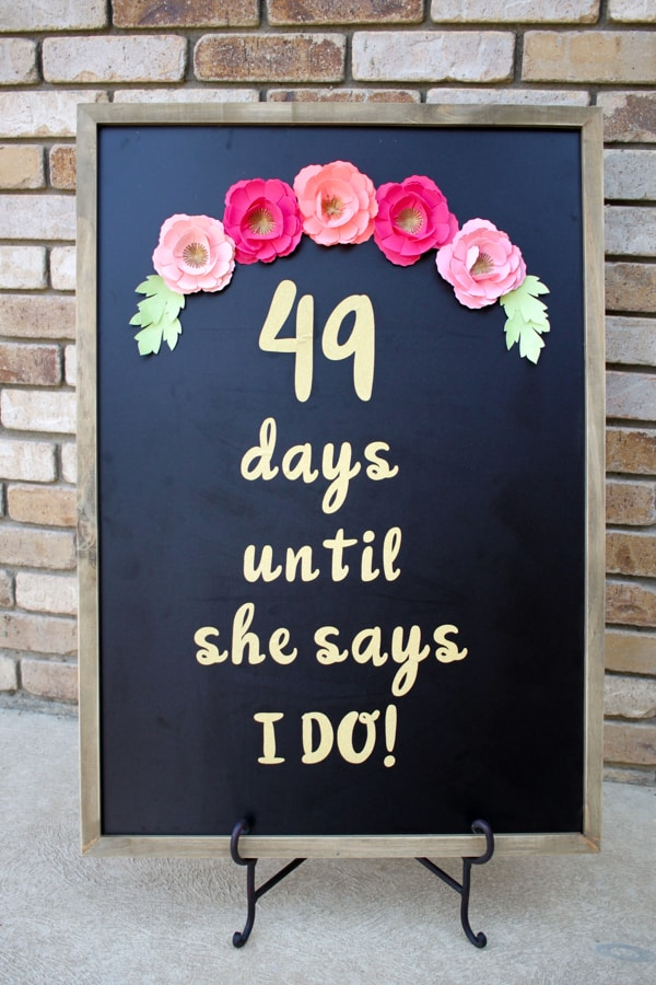 Cricut Projects For Weddings: 25 DIY Wedding Ideas With Cricut