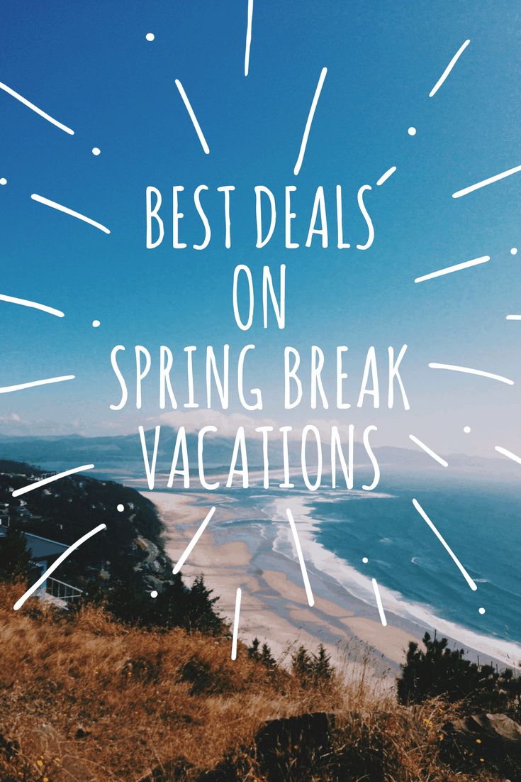 The Best Deals on Spring Break Vacations: If you're planning a vacation for Spring Break this post will give you some great resources of how to save money on some of this year's most popular destinations.