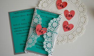 DIY Wedding Invitations with Cricut