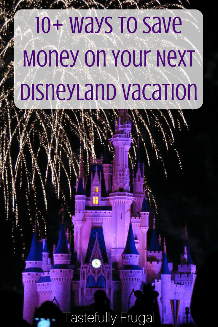 how to save up for disneyland