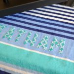DIY Custom Beach Towels (And How To Cut Fabric With Cricut Explore Air)
