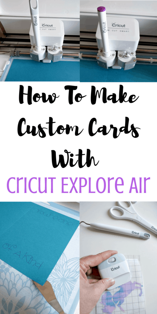 How To Make Custom Cards with Cricut Explore Air #ad #cricutmade