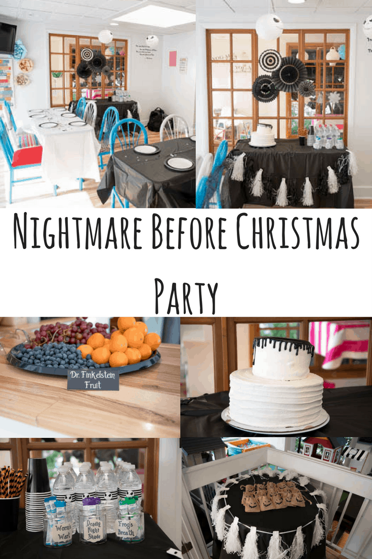 Nightmare Before Christmas In July Party