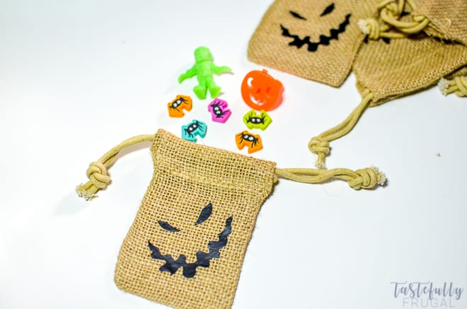 Oogie Boogie Treat Bags Tastefully Frugal