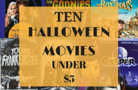 10 Family Friendly Halloween Movies Under $5