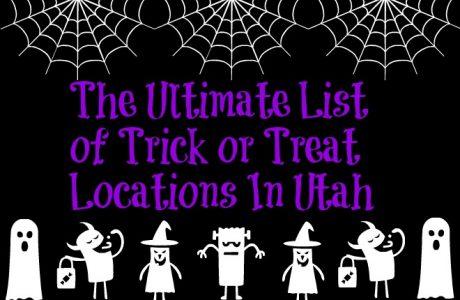 Ultimate List Of Trick Or Treat Locations In Utah 2017